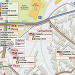 Plan Bus T2C - L'atelier Baryté - Clermont-Ferrand