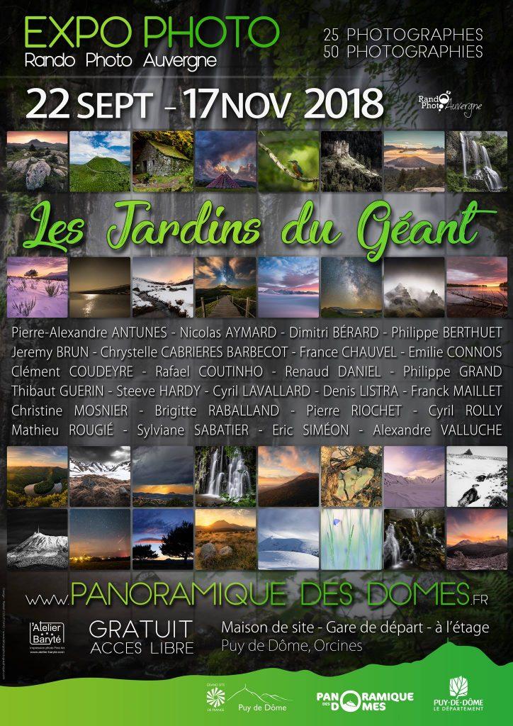 affiche Expo Rando-Photo-Auvergne